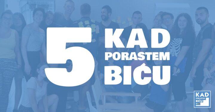 Otvorene prijave za Kad porastem biću… program, 6-dnevni letnji kamp u Petnici